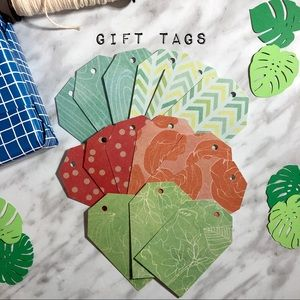 Other - 🛍 2/$15 • Handmade Gift Tags (15 Pieces)